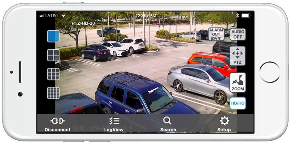 Camera systeem met app