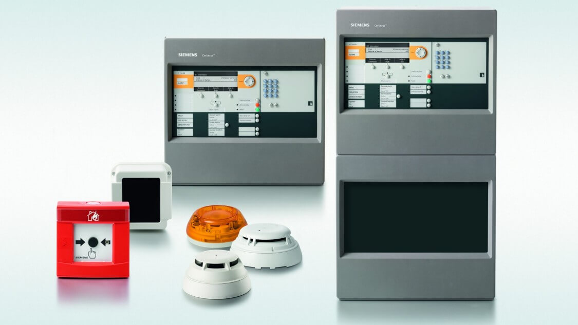 Siemens Brandalarm
