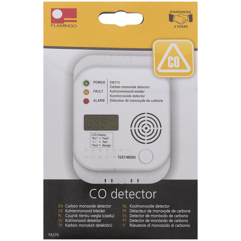Koolmonoxide Alarm Action