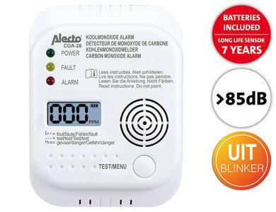 Koolmonoxide Alarm Alecto