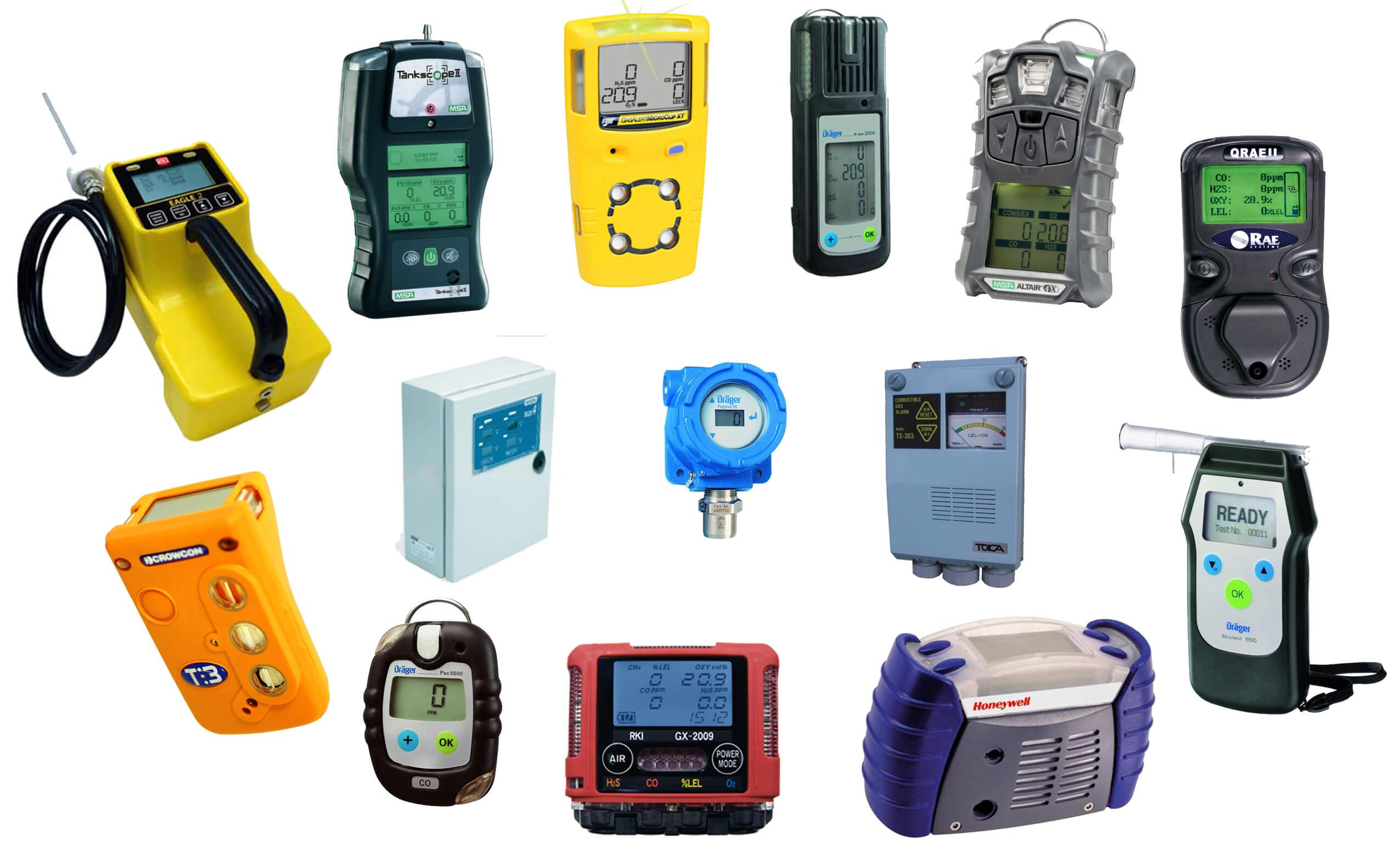 Gasdetectiesystemen