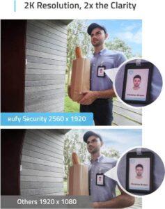 Eufy Video Deurbel - hoge resolutie