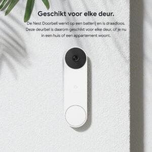 Google Nest videodeurbel voor elke deur