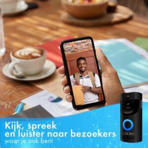 Looki Video Deurbel met Camera mobiel