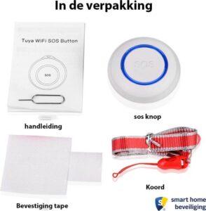 Persoonlijk alarm met SOS paniekknop accessoires