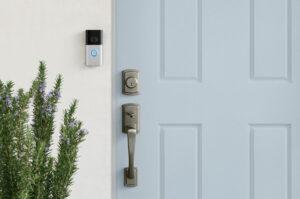 Ring Video Deurbel 3 naast de deur