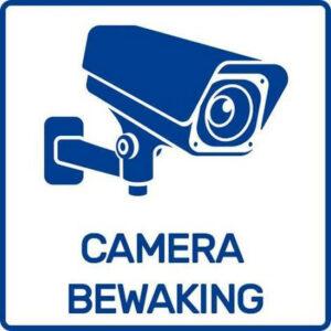Sticker camerabewaking