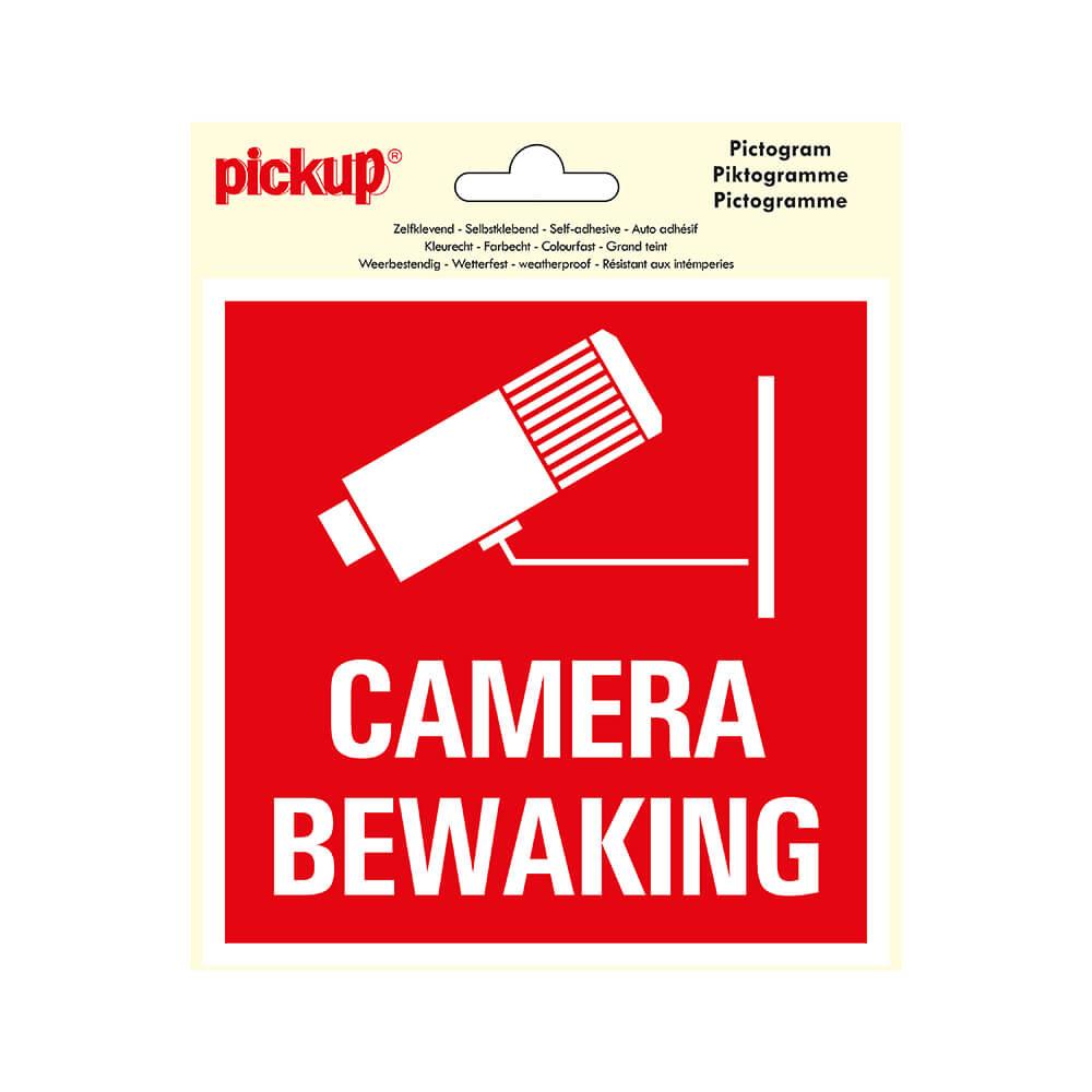 Sticker camerabewaking praxis