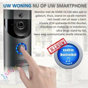 Video deurbel met Camera voordelen