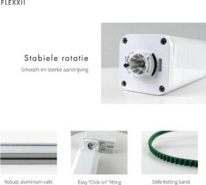 Flexxii - Slimme Gordijnen motor